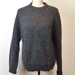 VINTAGE Gap Knit Crew Neck Color Fleck Sweater Med